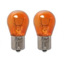 Autolamp oranje (12V 21W BAU15s)