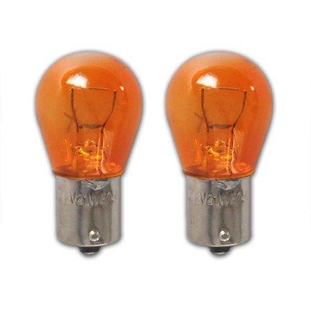 ProPlus Autolamp oranje (12V 21W BAU15s) (2 Stuks)