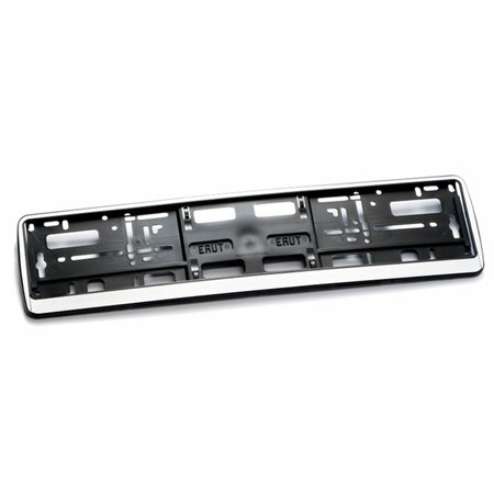 Kader ZILVER  2-Delig (PP) voor nummerplaat 520x110mm