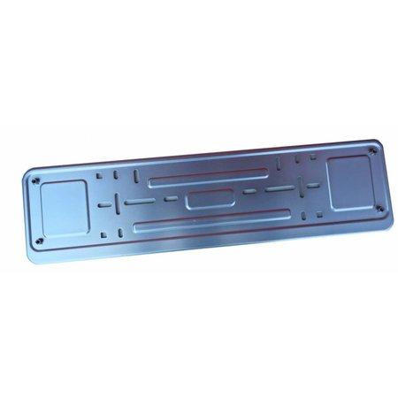 Kader ZILVER  (ALU) voor nummerplaat 520x110mm