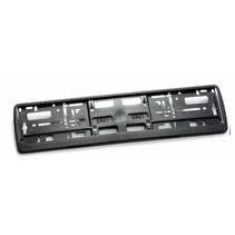 Kader ZWART 2-Delig (PP) voor nummerplaat 520x110/112 mm