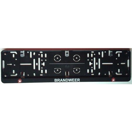 Kader BRANDWEER voor nummerplaat 520x110mm