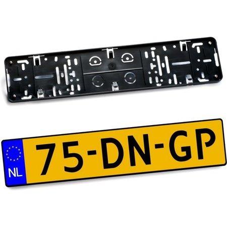 Kentekenplaathouder (ABS Zwart zonder boord) voor kentekenplaat 520x110mm