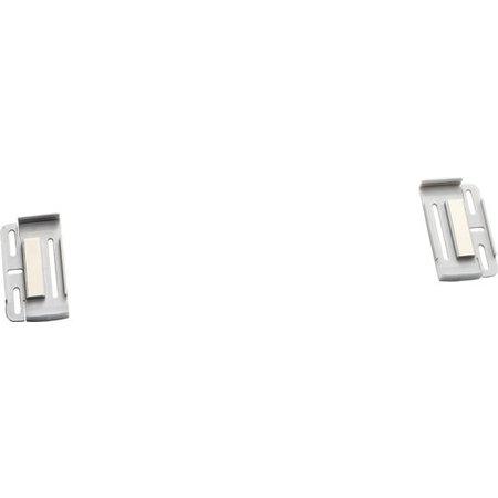 Simple Fix voor Nummerplaat 520x110mm (2 Stuks) (PVC)