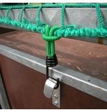 ProPlus Haakmetaal met Elastische Lus voor Aanhangernet/tent/zeil (4 stuks)