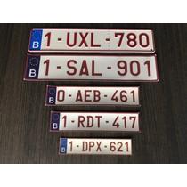 Stickernummerplaat