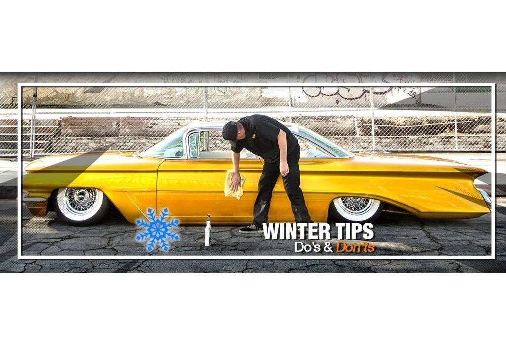 Winter tips voor het wassen van uw auto door onze leverancier Meguiar's