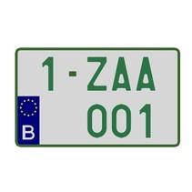 Handelaar Nummerplaat (Vierkant)