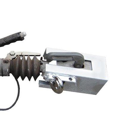 ProPlus Koppelingslot 110x110mm met discusslot