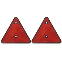 Driehoekreflector 2 stuks