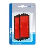 ProPlus Reflector rood 104x40mm schroefbevestiging 2 stuks