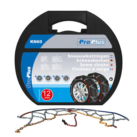 ProPlus Sneeuwketting KN60 - 12mm