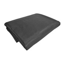 Anti-slipmat zwart 120x100cm vloeistofdicht