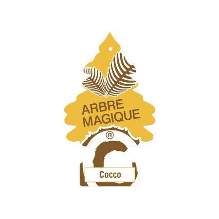 Arbre Magique Luchtverfrisser Arbre Magique -  Cocos (1st)