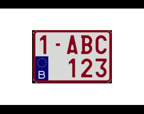 Moto Nummerplaten