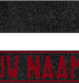 Funplaat Funplaat  Glitter zwart- Op Naam 520 x 112