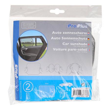ProPlus Auto zonnescherm voor zijraam set van 2 stuks