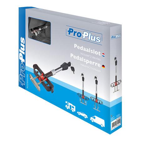ProPlus Pedaalslot met 2 Sleutels