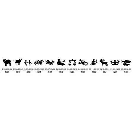 Funplaat Funplaat Pijl Wit (wijzend naar links)- Op Naam 520 x 112