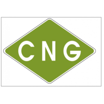 Sticker CNG 110x80mm