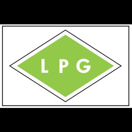 Sticker LPG 110X80mm