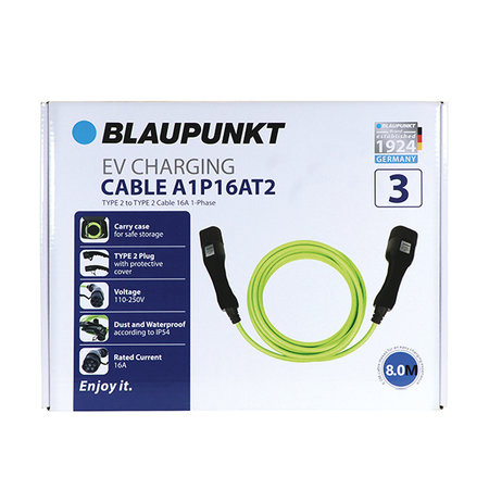 Blaupunkt EVcable type2-2 16A 1ph A1P16AT2