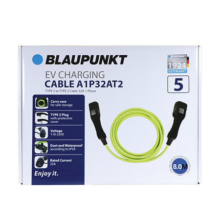 Blaupunkt EVcable type2-2 32A 1ph A1P32AT2
