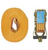 ProPlus Spanband met ratel + 2 haken 8 meter 3000kg