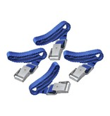 ProPlus Fietsriempjes met metalen gesp voor fietsdrager (4 stuks)