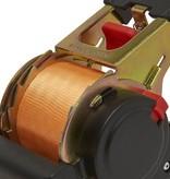 ProPlus Spanband met ratel + 2 haken 450cm 750 kg automatisch oprollend
