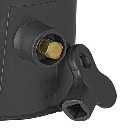 ProPlus Trekhaakdop zwart met slot