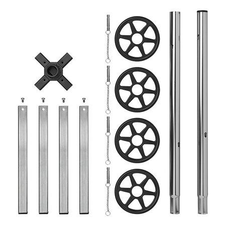 ProPlus Velgenstandaard aluminium  XL voor 4 banden