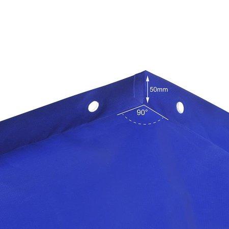 ProPlus Aanhangerzeil met elastisch koord 2575x1345x50mm
