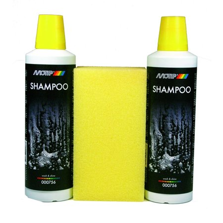 Motip Motip Shampoo Wash and Shine 2x500ml