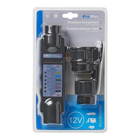 ProPlus Proplus Stekkertester 7-polig 12V set met 2 adapters