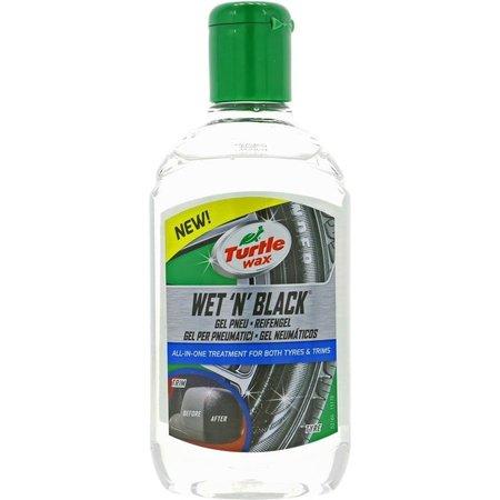 Turtle Wax Turtle Wax Wet N Black Tyre & Trim Gel 300ml