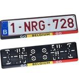 Kader GO BELGIUM GO voor nummerplaat 520x110mm