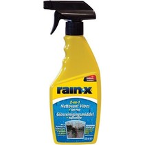 Rain-X 2-in-1 Glasreinigingsmiddel + Anti-Regen Regenafstoter 500 ml