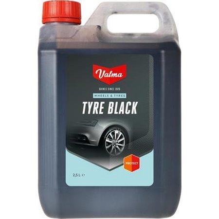 Valma Valma Banden Zwart 2,5 Liter