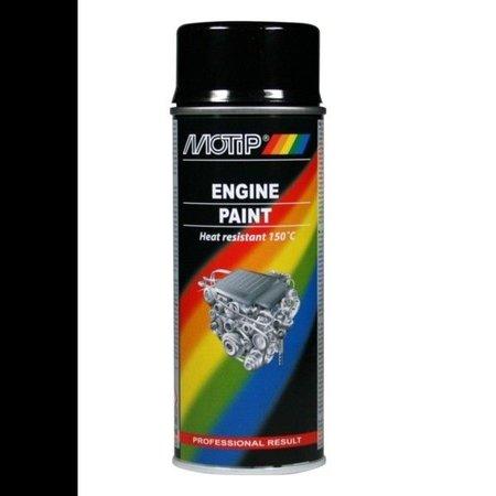 Motip Motip Engine Paint zwart 400ml