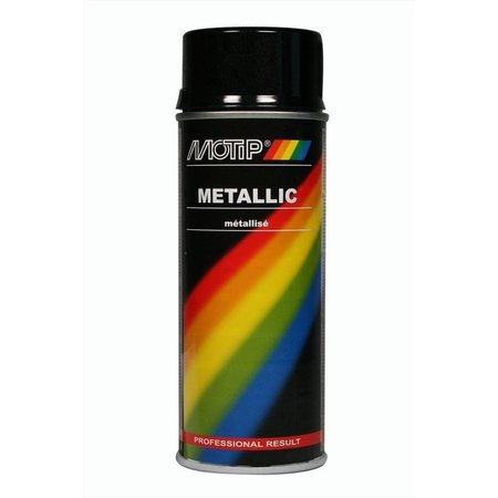 Motip Motip Metallic Lak zwart 400ml