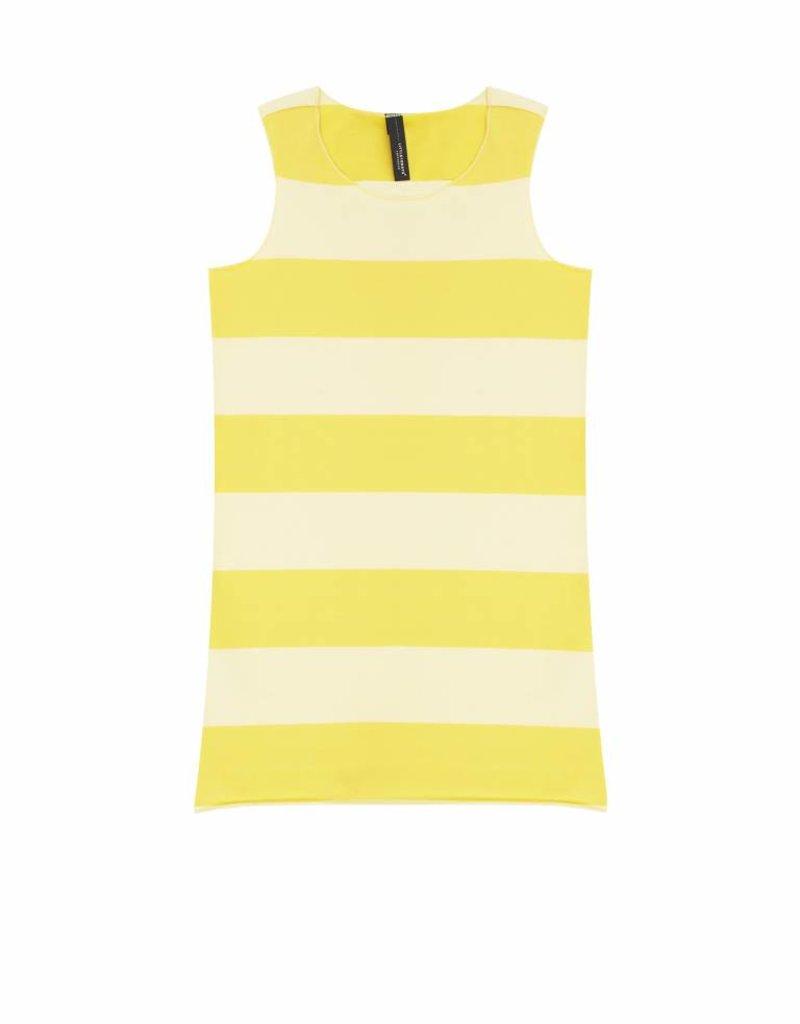 Little 10 Days Little 10 Days Yellow Stripe Dress