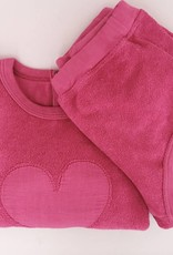 Babe & Tess Babe & Tess Sweater Fucsia Hear