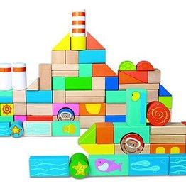 Smallfoot 4333 - houten bouwstenen onderwaterwereld