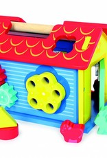 """Smallfoot Shape-Sorter House """"Animals and Shapes"""""""