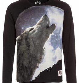Lemon Beret Longsleeve howling wolf