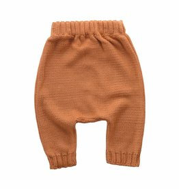 Bamboo & Love  AW17-KT17 KNIT BAGGY PANTS C21 - CAMEL