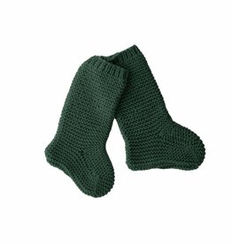 Bamboo & Love  KNIT SOCKS C19 - BOTTLE GREEN