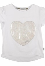Rumbl! Royal T-shirt white with heart