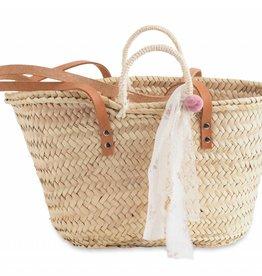 Tocoto Vintage Straw Handbag
